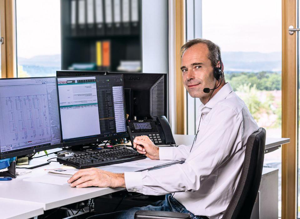 Geschäftsführer Bernfried Fleiner